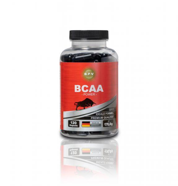 BPV - BCAA 120 Stück - Hochdosiert 1423 mg pro Kapseln