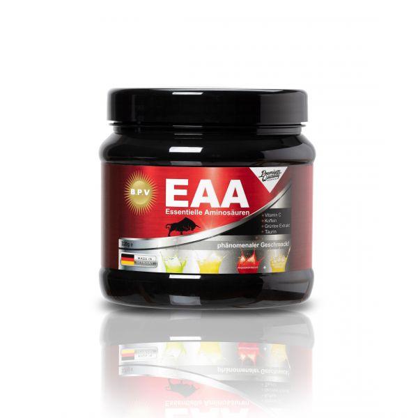 BPV - EAA Essentielle Aminosäuren + Koffein + Taurin + Grüntee-Extrakt + Vitamin C