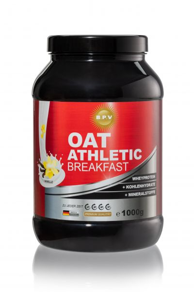 BPV - OAT ATHLETIC BREAKFAST - Wheyprotein + Kohlenhydrate + Mineralstoffen