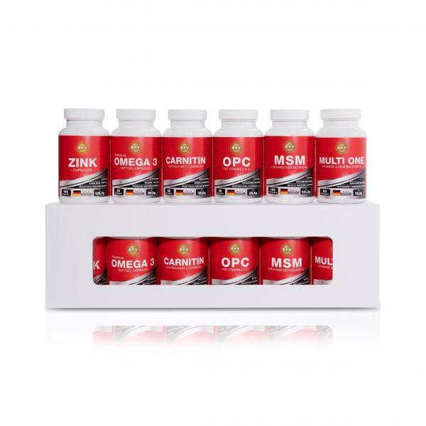 BPV - XXL BOX mit den besten 6 Produkten zur optimalen Komplettversorgung