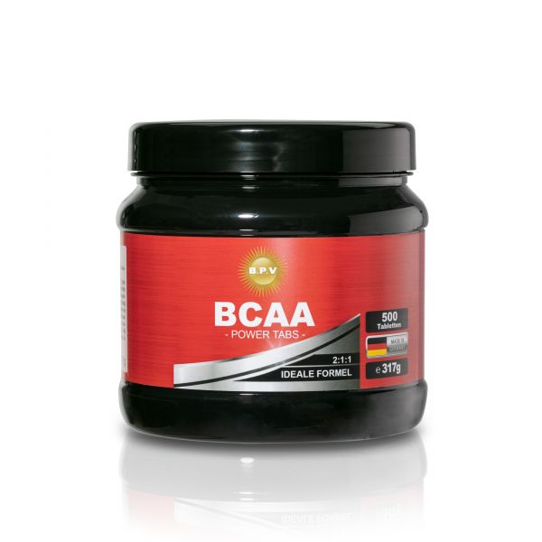 BPV - BCAA POWER TABS 500 Tabletten