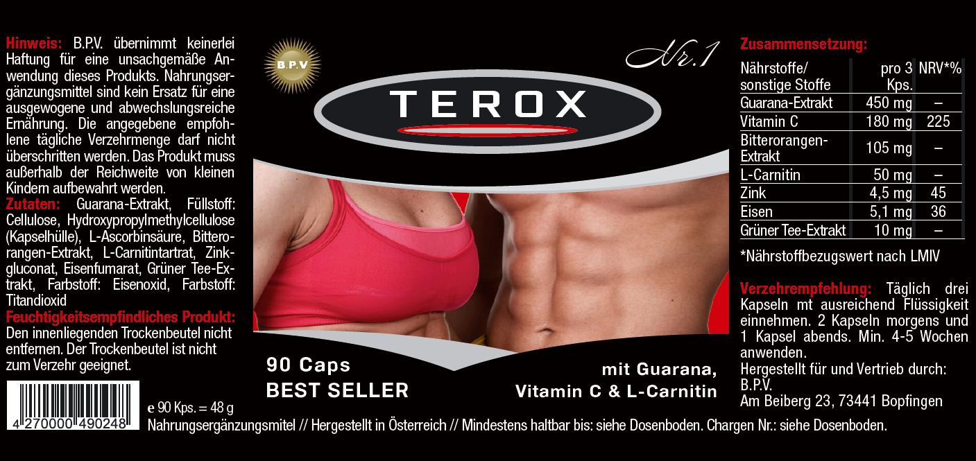 Etikett-TEROX