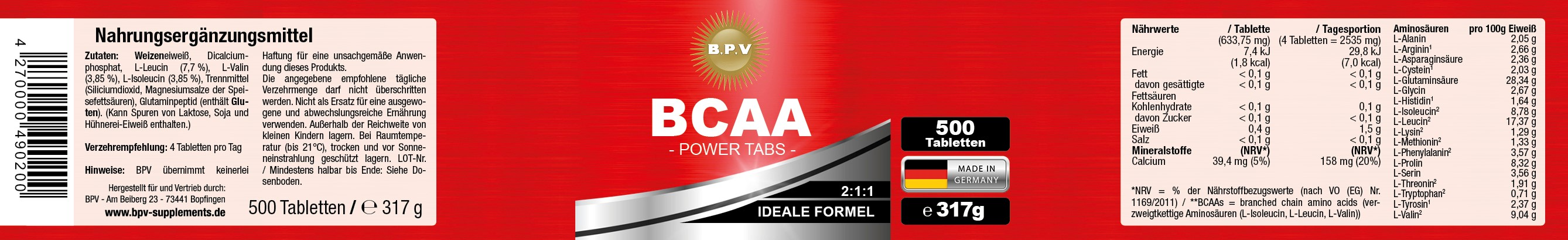 ANSICHT_BCAA-Tabletten_750ml-Dose_500Stuck